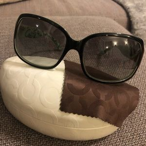 64d3d27a1beb Coach Accessories | Sunglasses Hc8026ml901 Ginger Sunglasses | Poshmark